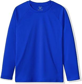 TSLA Girls & Boys Long/Short Sleeve Rash Guard Swimsuit, UV/SPF Water Beach Surf Swim Shirt, UPF 50+ Sunscreen Swimwear Sh...
