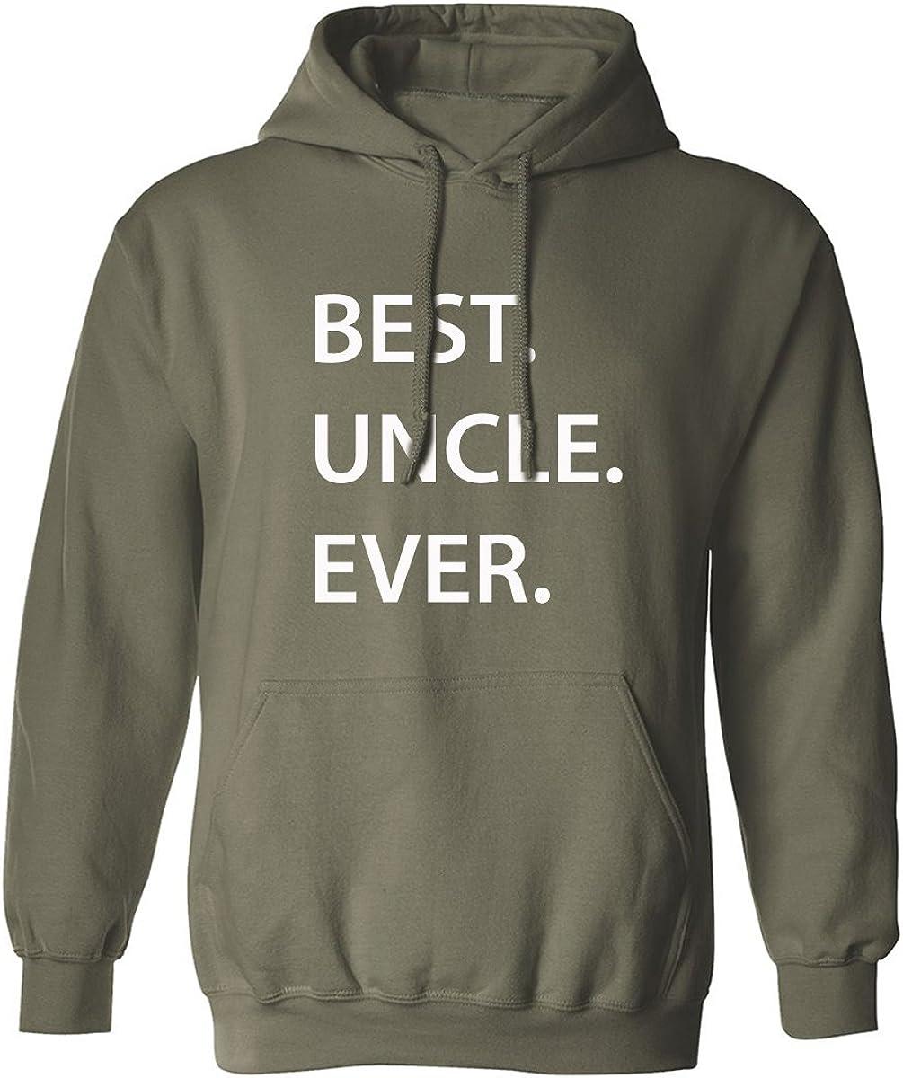 BEST.UNCLE.EVER. Adult Hooded Sweatshirt