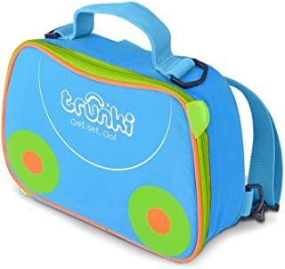 Trunki Kids Insulated Lunch Bag & Backpack With Shoulder Strap - Terrace (Blue)