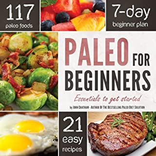 Page de couverture de Paleo for Beginners: Essentials to Get Started