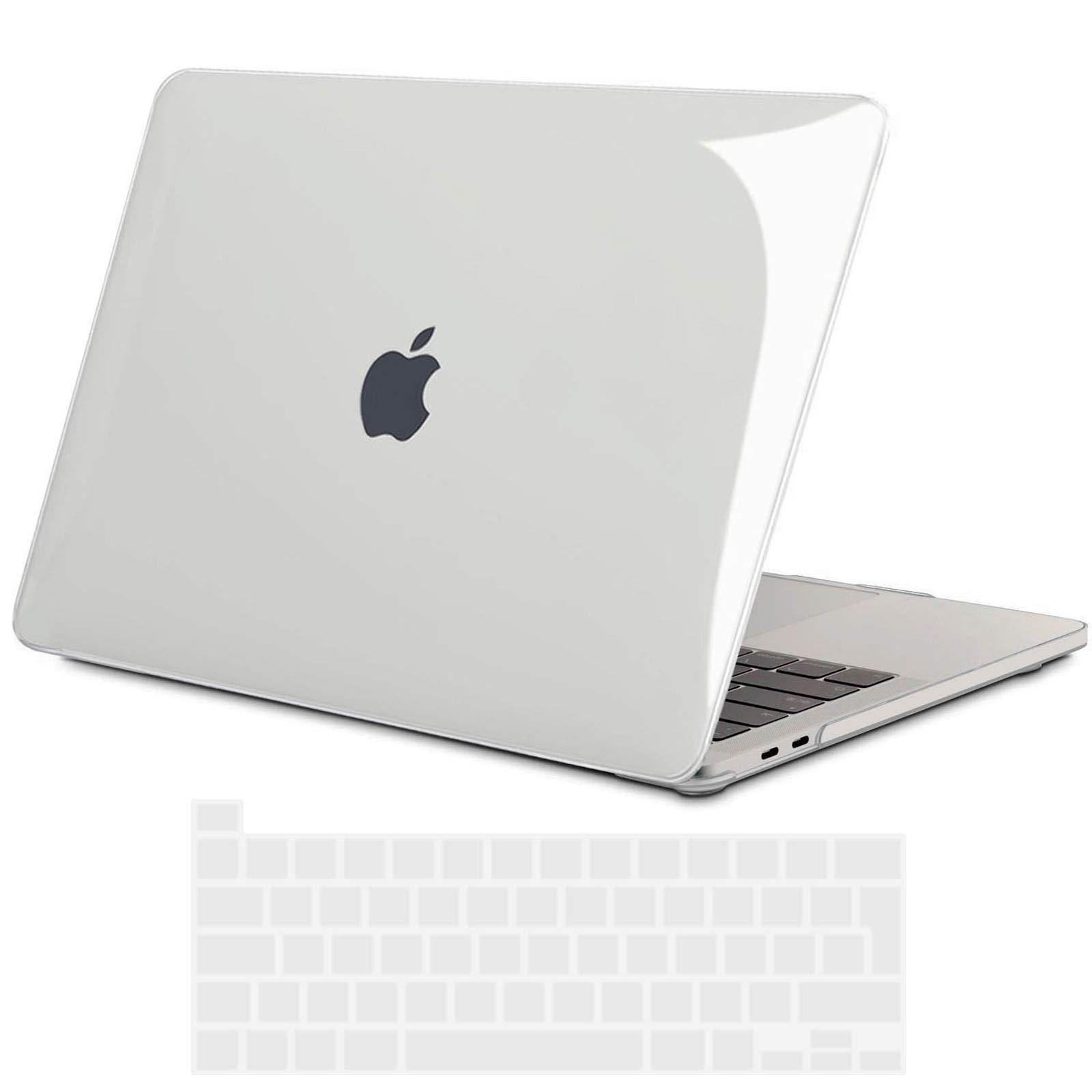 TECOOL Funda para 2020 MacBook Pro 13, Cubierta de Plástico Dura Case Carcasa y Tapa del Teclado para MacBook Pro 13.3 Pulgadas con Touch Bar y Touch ID, Modelo: A2289 / A2251: Amazon.es: Electrónica