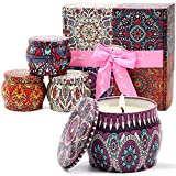 Scented Candles Gift Set for Women Holiday,4...