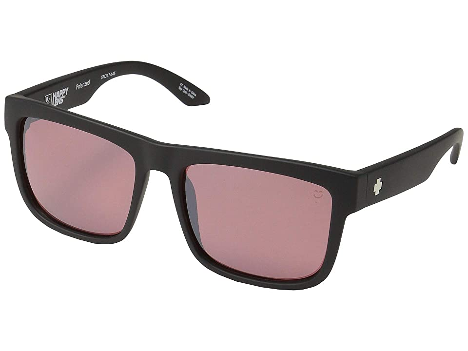 Spy Optic Discord (Matte Black/Happy Rose Polar/Light Silver Spectra Mirror) Sport Sunglasses