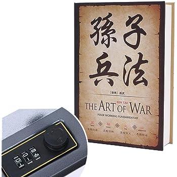 Caja fuerte con forma de libro, con cierre antirrobo de contraseña: Amazon.es: Bricolaje y herramientas
