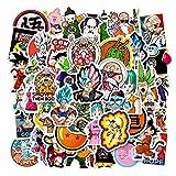 50 Unids / Set Dibujos Animados Japoneses Anime Dragon Ball Pegatinas Diy Maleta Impermeable Guitarra Monopatín Pegatinas De Graffiti Para Niños
