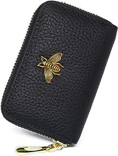 imeetu RFID Credit Card Holder, Leather Card Organizer for Women S