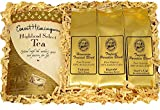 Tropical Tea and Kona Hawaiian Coffee Assortment Gourmet Gift in Gift Box for Christmas, Birthday, Mothers Day, Fathers Day and All Occasions, Click on Image to See Attractive Gift Box Presentation