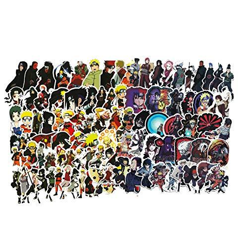 JIANGGUOMIN 130 stks Cartoon Voor Snowboard Laptop Bagage Koelkast Auto Styling Vinyl Stickers