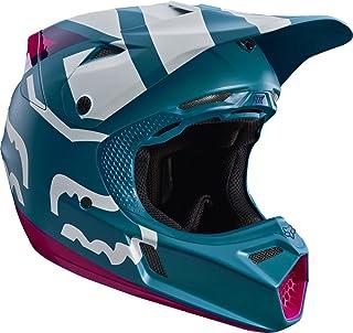 Fox V3 Creo Motocross Helm L 59/60 Türkis