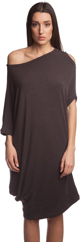 Alinamalina Designer Asymmetric One Shoulder Dress