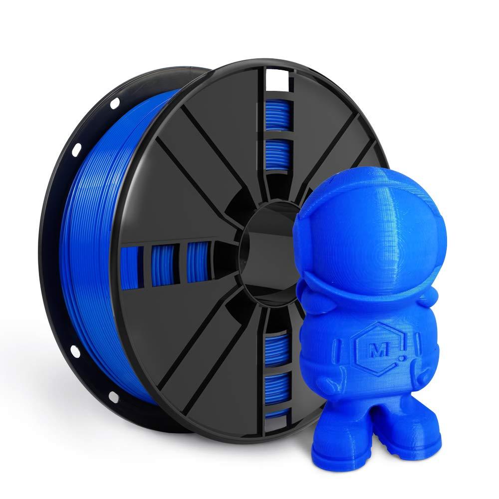 Blue shop Oklahoma City Mall ABS Filament 1.75mm NovaMaker Less Fil Printer Odor 3D