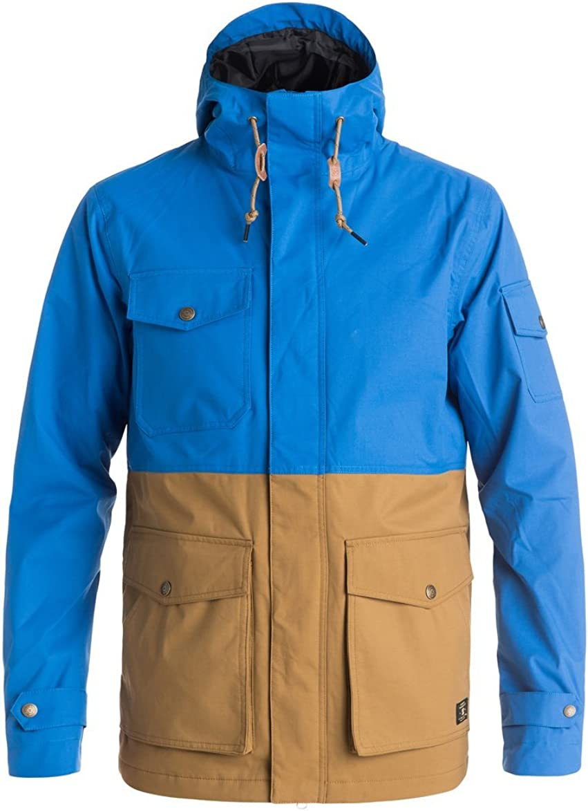 DC In stock Men's Tick 5k Water Jacket Directly managed store Snow Proof
