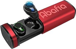 comprar comparacion Abafia Auriculares Bluetooth 5.0, Auriculares inalámbricos Mini Invisibles In Ear con Micrófono Incorporado Estéreo Auricu...
