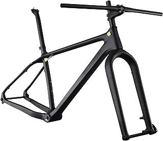 ICAN 26er Carbon Fat Tire Bike Frame Set 16/18/20 Inch BSA 197 x 12mm Rear 150 x 15mm Fork Spacing