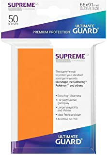 Ultimate Guard - Sleeves: Supreme UX Standard Size Orange (50)