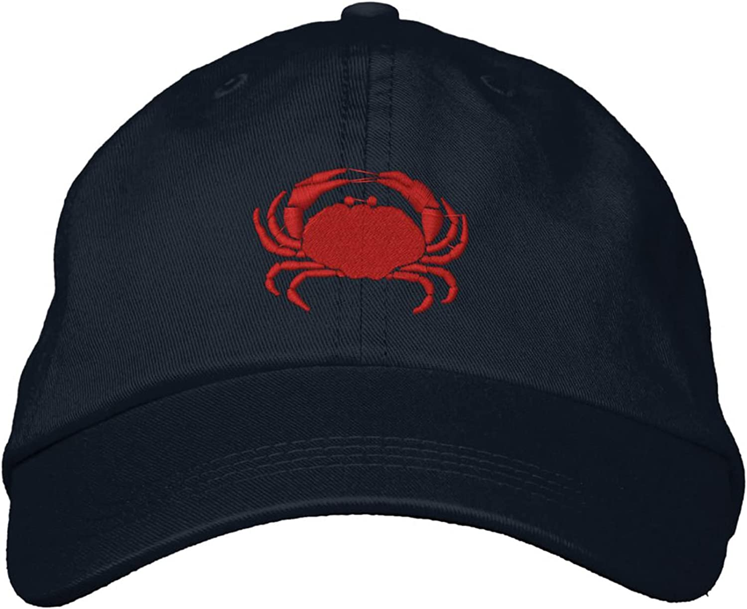 Embroidery Baseball Cap Craby Crab Embroidered Dad Hats for Men Women Adjustable Sun Hats