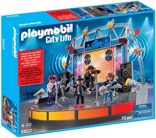 PLAYMOBIL Popstars! 5602 Escenario con USB y MP3