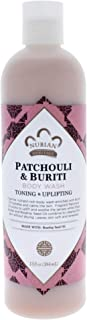 Nubian Heritage Patchouli & Buriti Body Wash by Nubian Heritage for Unisex - 13 oz Body Wash, 384 ml