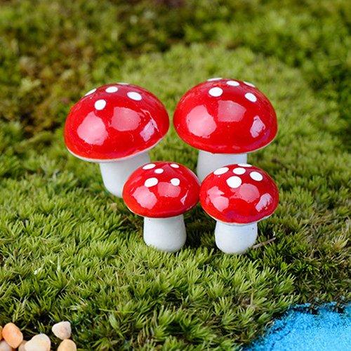 Quanjucheer Lot de 20 mini bonsaï miniatures pour jardin féérique
