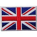 Parche bordado con bandera del Reino Unido para planchar o coser en el Reino Unido