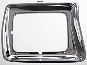 Headlight Door compatible with Ford F-Series 78-79 LH Chrome w/Rectangular Headlamps Left Side