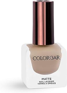 Colorbar Matte Nail Lacquer, Beige Break, 12 ml