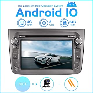 TOOPAI Car Multimedia Player for Alfa Romeo Mito 2008 Onwards Android 10 Octa Core 4G RAM 64G ROM IPS Single Din Car Radio Audio Stereo GPS Navigation