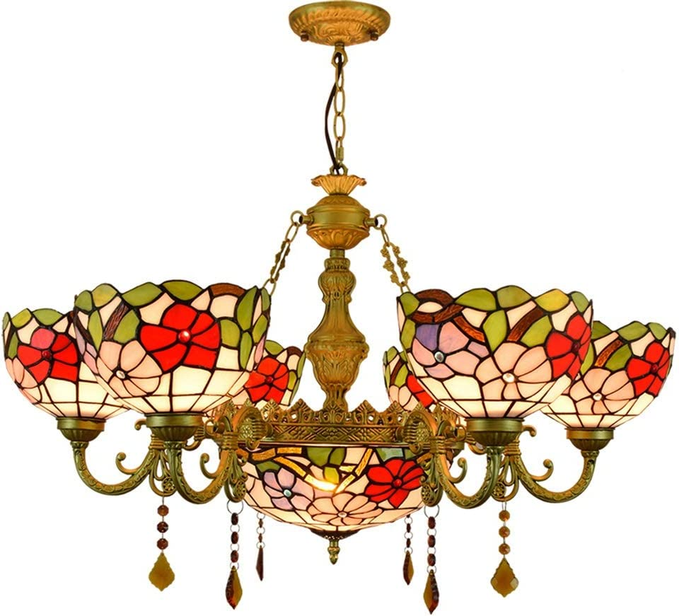 Stained Glass Bracket Lamp 32