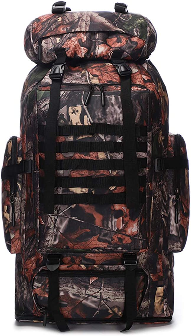 Waterproof Climbing Hiking Military Tactical Outdoor Backpack Bag 70L//100L Camping Outdoor Molle Rucksack Backpack Waterproof Traveling Daypack Large Camping Backpack