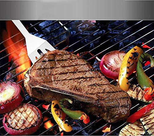 614eRPoeQ7L. SL500  - Grillzubehör Koffer, 32 Stück Edelstahl BBQ-Werkzeuge Set Perfect BBQ-Werkzeuge Set mit Aufbewahrungsbox Männer Frauen im Freien Grill-Kit Barbecue Grill-Utensilien für Camping-Party und Picknick
