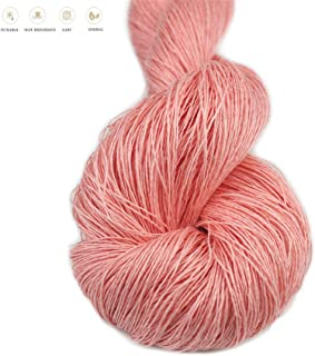 Lotus Yarns 100% Natural Linen Lace Weight Hand Knitting Crochet Yarn 50g/Hank for Summer Fashion Garments Baby Clothes Soft and Cool (17)