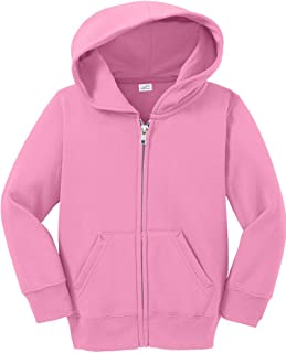 Toddler Full Zip Hoodies - Soft and Cozy Hooded Sweatshirts