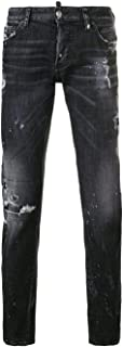 Dsquared2 メンズ S74LB0490S30357900 ブラック コットン ジーンズ