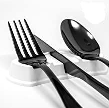 Utillo -White Cutlery Rests - Avoid germs on dirty tabletops at restaurants, home, and on-the-go. When you need a place to...
