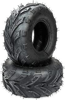 MILLION PARTS 2PCS ATV Go Kart Tires 145/70-6 4PR P361 B 4 Ply Rated Black
