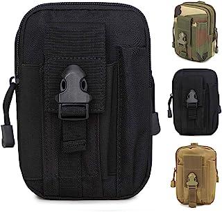 comprar comparacion ZhaoCo Multiusos Poly Herramienta Soporte, Tactical Molle EDC Bolsa Utilidad Gadget Bolsa de Cintura con Teléfono Móvil pa...