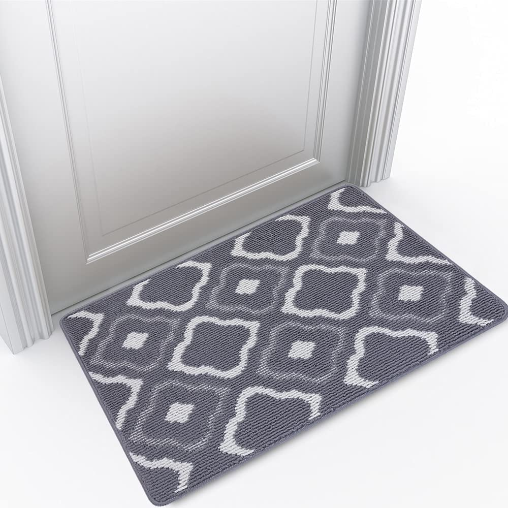 High quality Indoor Doormat Front Door Charlotte Mall Mat Non Slip Backing Rubber Super Abso
