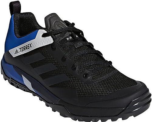 Adidas outdoor Mens Terrex Trail Cross SL chaussures (8.5 - noir Carbon bleu Beauty)