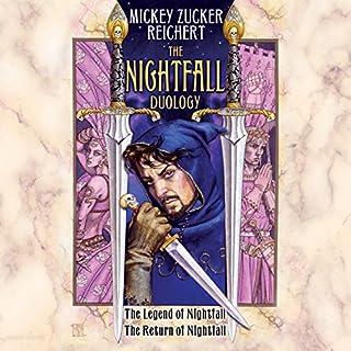The Nightfall Duology audiobook cover art