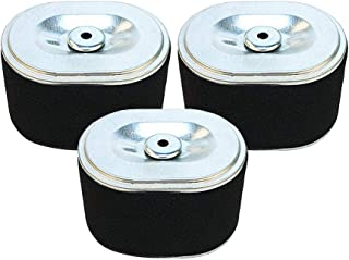 SaferCCTV Replacement 17210-ZE1-517 Air Filter for Honda Gx140 Gx160 Gx200 5.5hp 6.hp Small Engines, Raven 212cc 24in Front-Tine Tiller, 3 Pack
