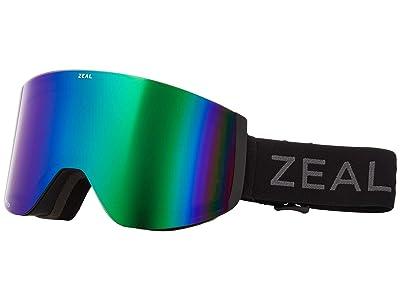 Zeal Optics Hatchet (Dark Night w/ Polarized Jade Mirror + Sky Blue Mirror) Snow Goggles