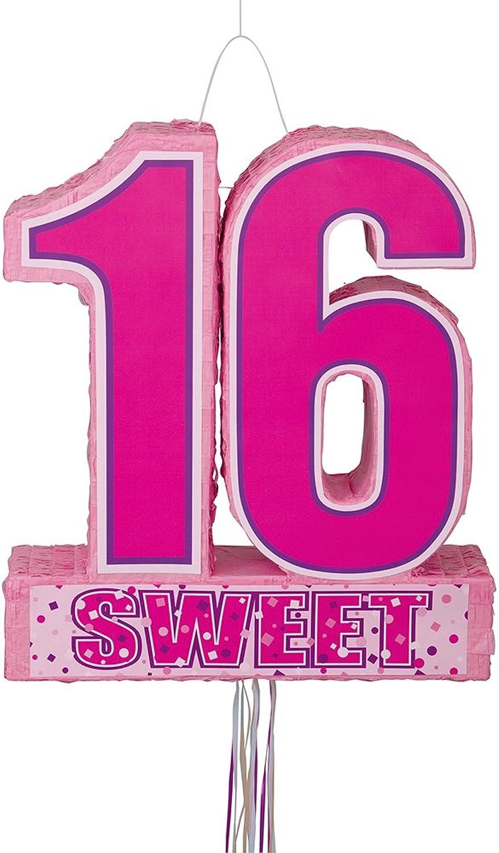 Sweet 16 Birthday Pinata, Pinata, Pinata, Pull String 4f8c5e - qrnjh