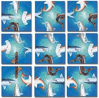 B.Dazzle Scramble Squares: Sharks