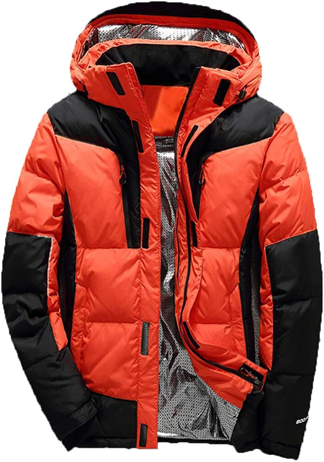 Thick Down Jacket Winter Outdoor Casual Jacket Short Plus Velvet Hooded Collar Collar Fashion Polyester Multi color Size Multiple Choice Warm and Windproof