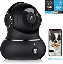 Home Security Camera, [2020 Newest] Littlelf 1080P Indoor Wireless Wifi IP Camera for..