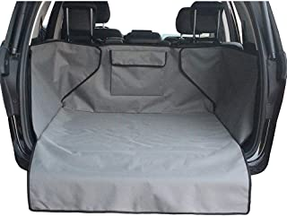 DOBEST Dog Vehicle Cargo Liner Cover Pet Seat Cover Bed Floor Mat Nonslip Waterproof Universal for Car SUV Truck Vans Gray