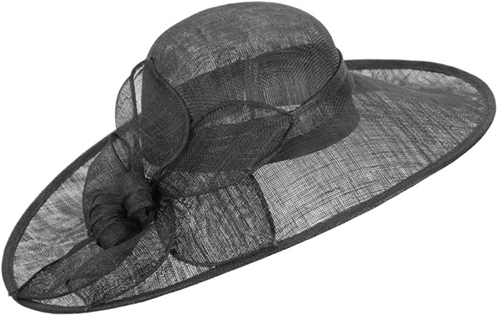 Seattle Mall Max Alexander Black NEW before selling ☆ Wide Racing hat Brim Fashion