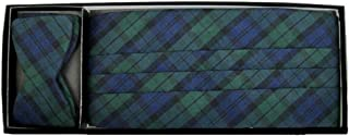 Black Watch Plaid with Tie Yourself Bow Tie