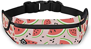 Pineapple Creative Fanny Packs for Women Men Unisex Waist Bag Pack with Headphone Jack and Zipper Adjustable Strap Fashion Bum Bag for Party, Music Festival, Rave, Hiking, Vacation, Trip