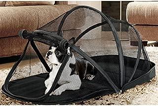 Dulcii Pet Fun House Cat Playpen Feline Funhouse Portable Exercise Tent, Mesh Pop up Playhouse Tent for Deck, Patio, Porch, Yard, Balcony & RV Travel